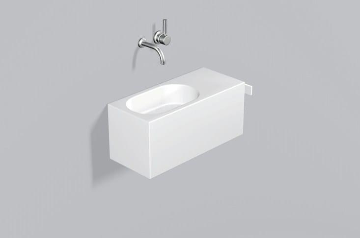 Washplace from glazed steel WP.XXS3 - ALAPE