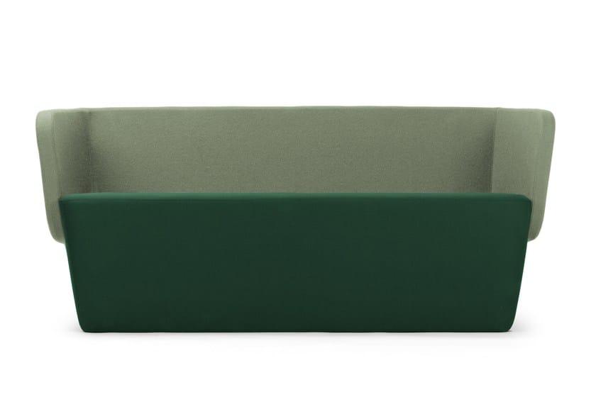 2 seater wool sofa WRAP | Wool sofa - True Design