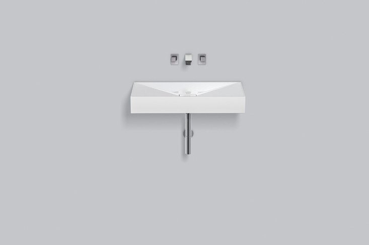 Washstand from glazed steel WT.KF800 - ALAPE
