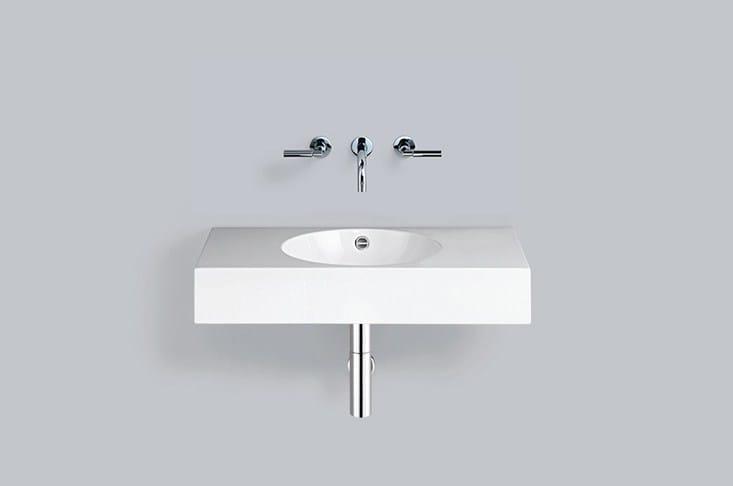 Washstand from glazed steel WT.MC800 - ALAPE