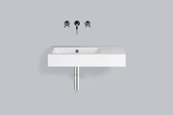 Washstand from glazed steel WT.PR800.L/R - ALAPE