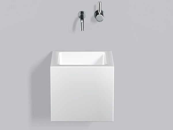 Washstand from glazed steel WT.QS325X - ALAPE