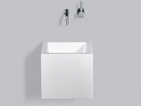 Washstand from glazed steel WT.QS325X - ALAPE