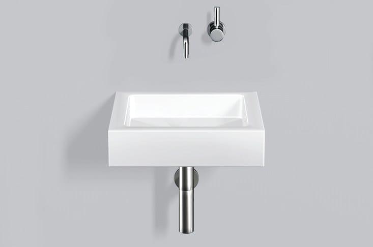 Washstand from glazed steel WT.QS450 - ALAPE