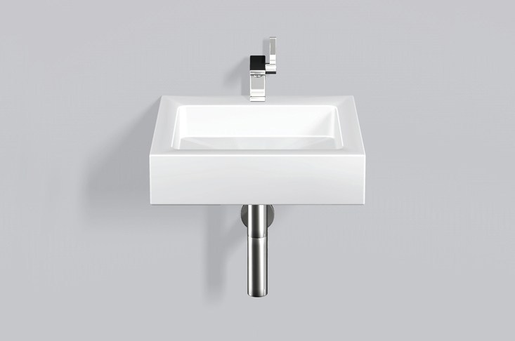 Washstand from glazed steel WT.QS450H - ALAPE