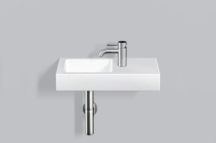 Washstand from glazed steel WT.QS525H.L/R - ALAPE