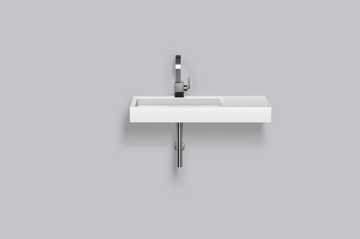 Washstand from glazed steel WT.RE1000H.L/R - ALAPE