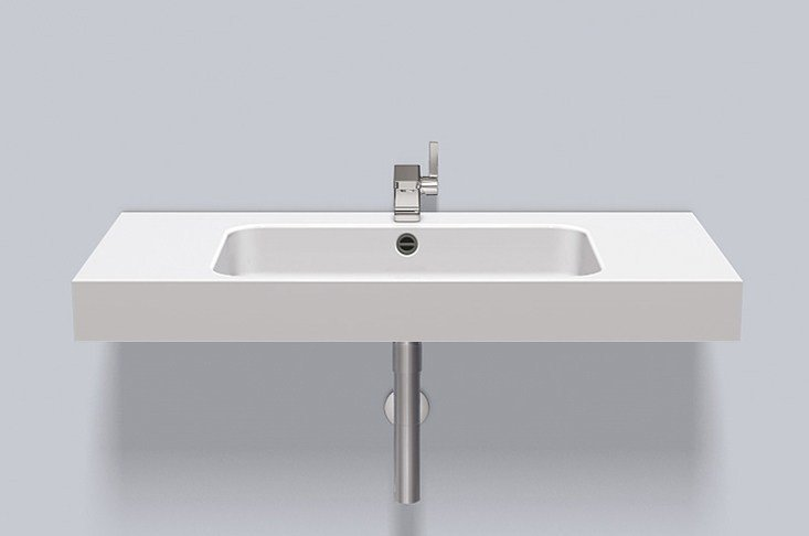 Washstand from glazed steel WT.SR1000H - ALAPE