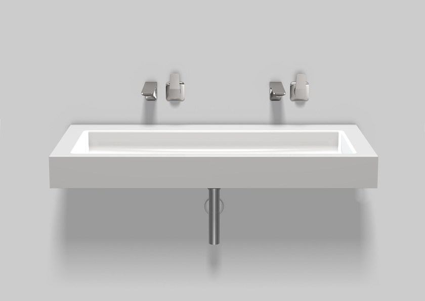 Washstand from glazed steel WT.TW1200 by Alape