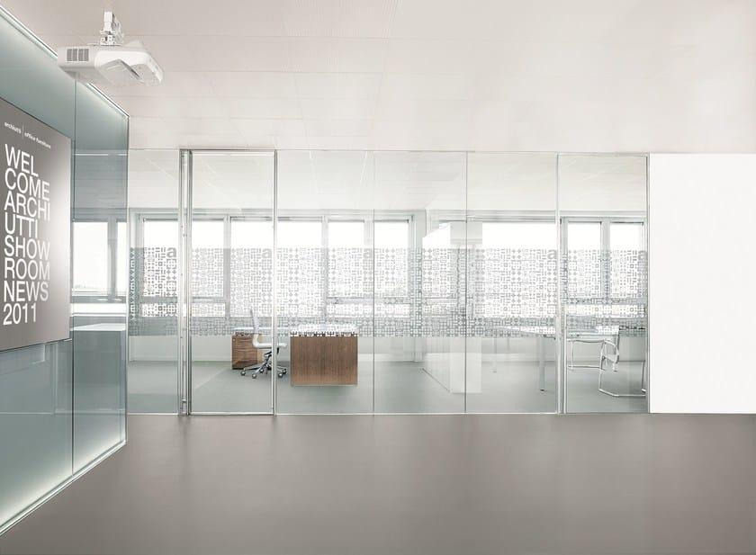 Parete mobile per ufficio by archiutti for Prezzi pareti divisorie ufficio