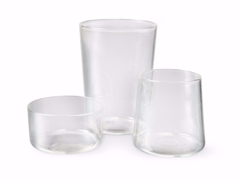 Borosilicate glass glass WINE, WATER & WHISKY - Atipico