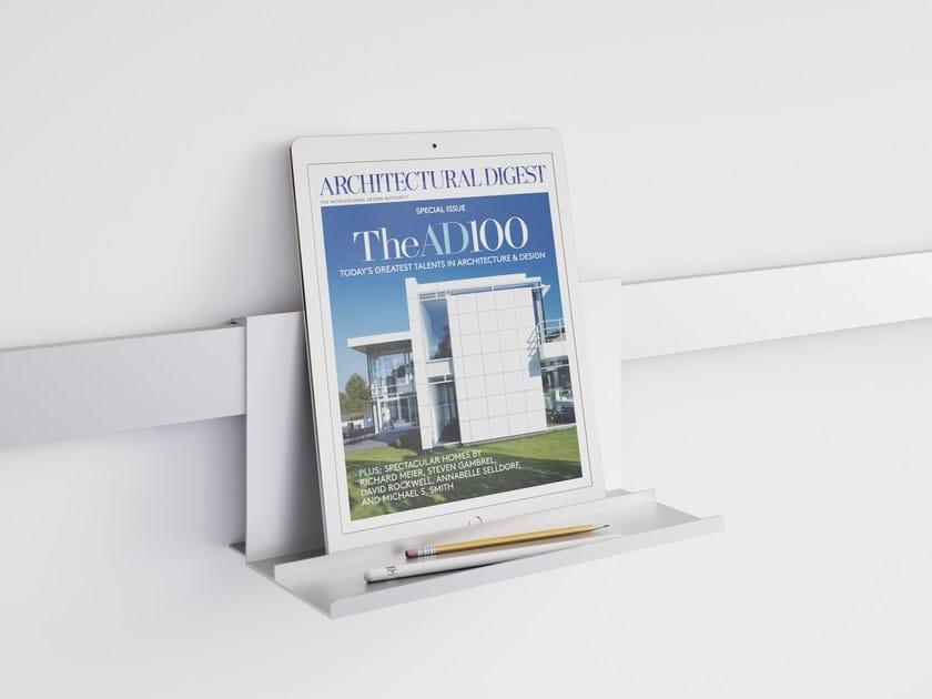 Aluminium wall shelf NODO | Wall shelf by Letroh