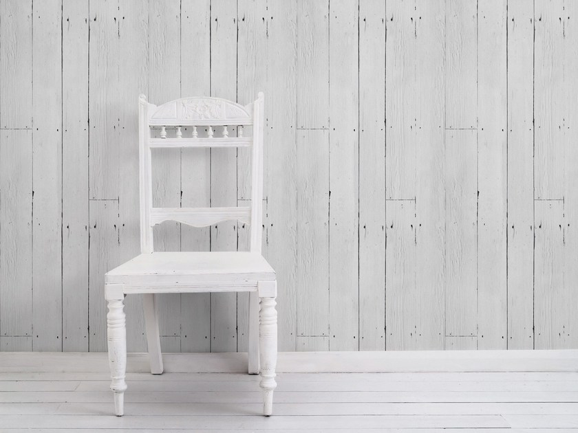 Wallpaper WHITE PLANK - Mineheart