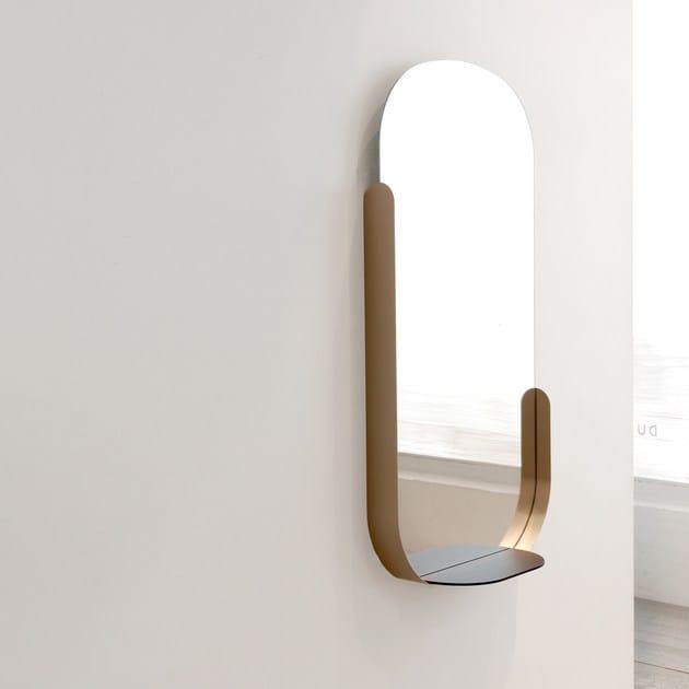 Specchio ovale con cornice a parete Wonderland - DANTE - Goods and Bads