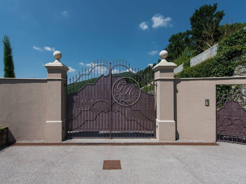Iron gate Wrought iron gate 10 - Garden House Lazzerini