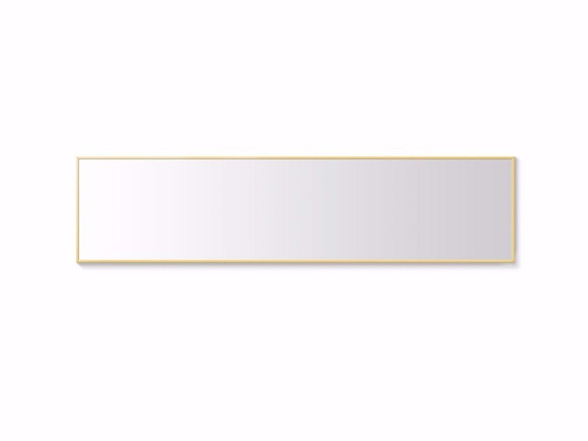 Rectangular wall-mounted mirror XÀBIA | Wall-mounted mirror - Punt