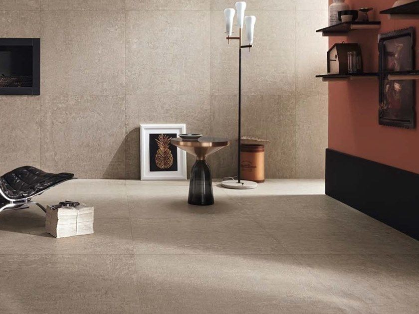 Porcelain stoneware wall/floor tiles with concrete effect X-BETON - COTTO D'ESTE