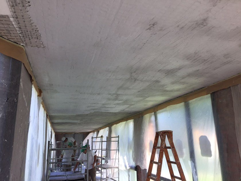 Panel for consolidation of masonry X PLASTER W-SYSTEM™ - RUREDIL