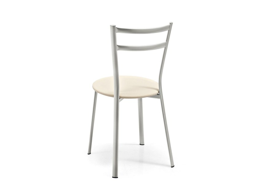 Open back metal chair X-PRESS | Chair - Calligaris