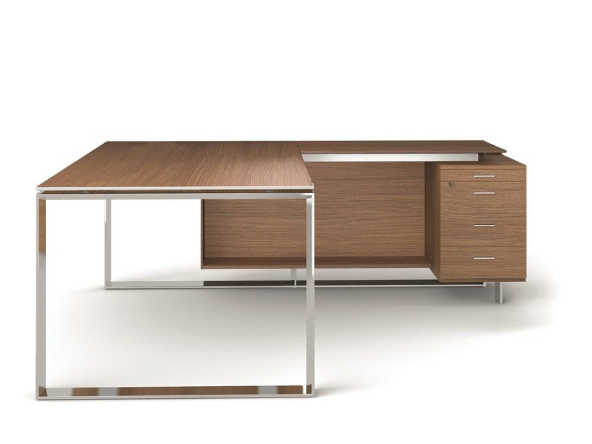 Office desk with shelves X7 | Office desk with shelves by Quadrifoglio