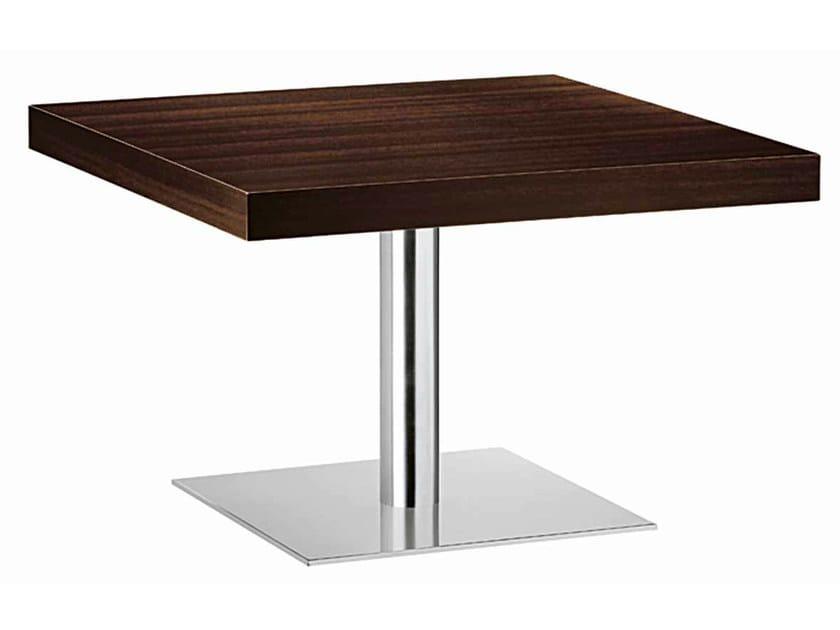 Rectangular steel and wood table XT 480BT - Metalmobil