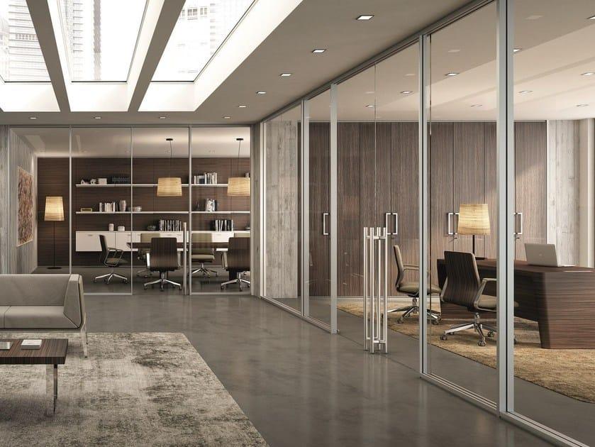 parete mobile per ufficio xw m1 m3 quadrifoglio