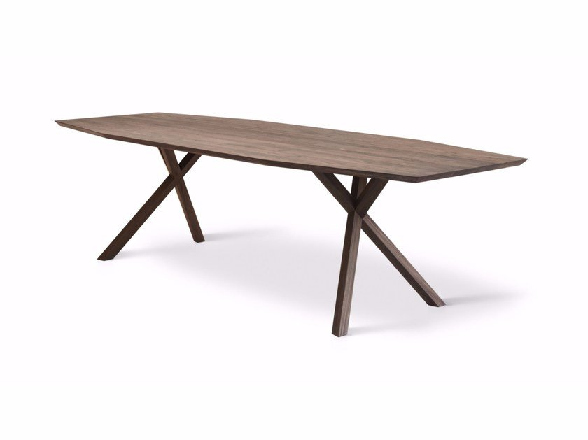 Solid wood table XY - Montis
