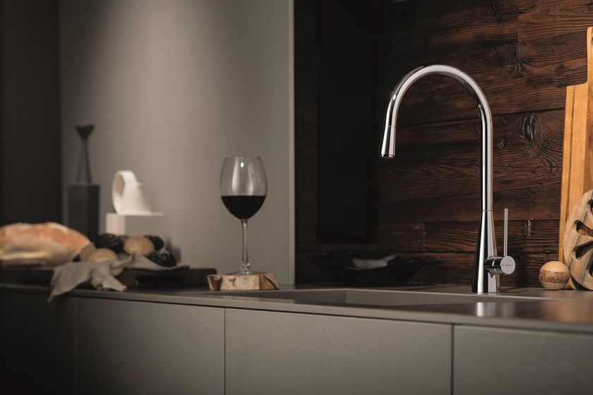 Countertop 1 hole kitchen mixer tap Y-CON | Kitchen mixer tap - NEWFORM