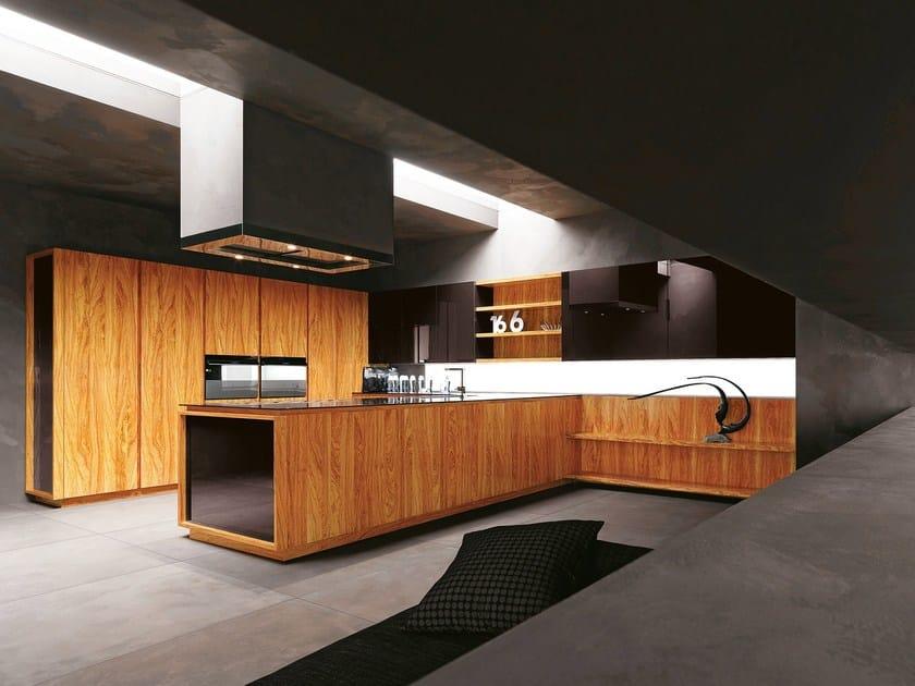 Cuisine en bois d 39 olivier yara vip composition 2 by for Cesar arredamenti