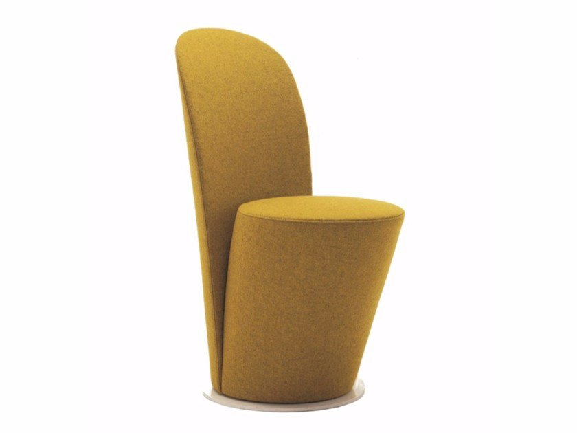Upholstered fabric easy chair YESBABY by Segis