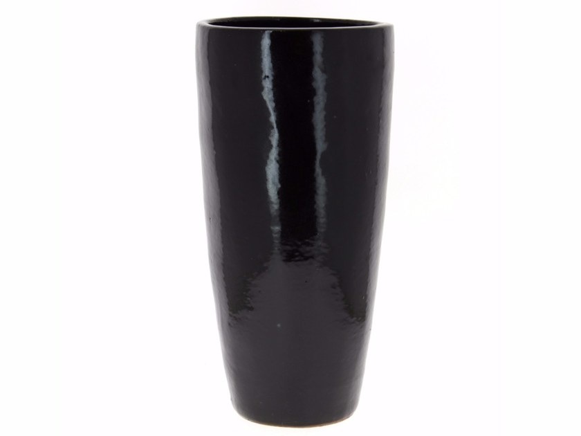 Ceramic vase YIXING JARDIN | Vase - Compagnie Française de l'Orient et de la Chine
