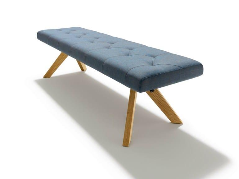 Upholstered fabric bench YPS | Bench - TEAM 7 Natürlich Wohnen