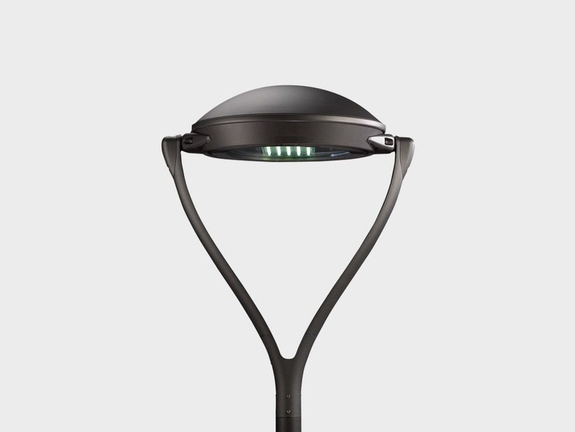 LED aluminium garden lamp post YPSILON POST TOP - Cariboni group