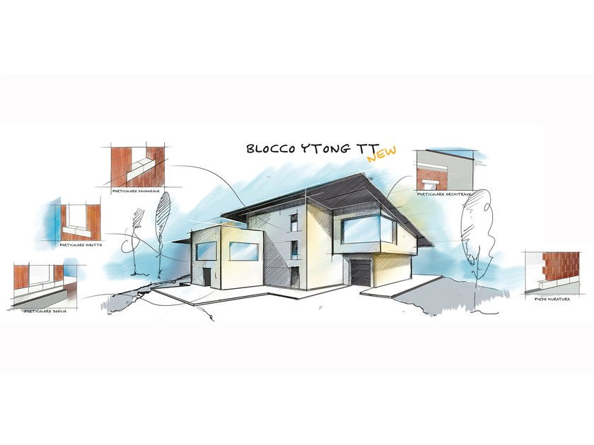 ytong house eclipse ytong blocks total size xx cm izaberite kuu iz snova house with a. Black Bedroom Furniture Sets. Home Design Ideas