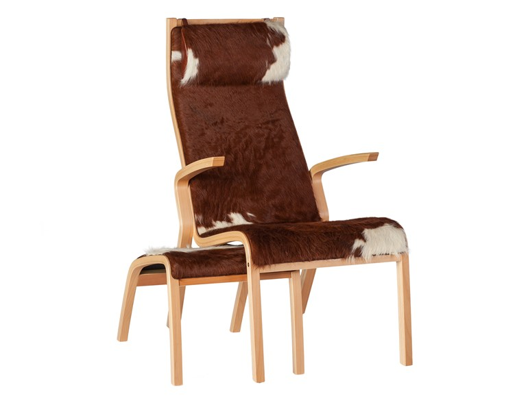 Classic style upholstered leather guest chair with armrests ZÜRICH   Easy chair - Tarmeko