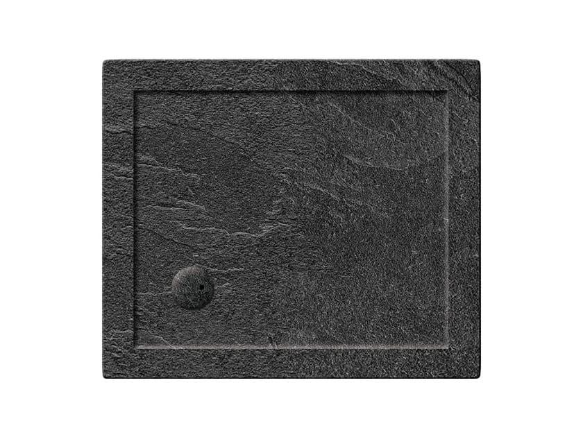 Rectangular acrylic shower tray T-FORMAT | Rectangular shower tray - Polo