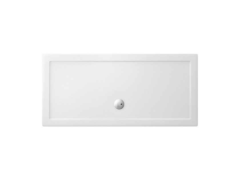 Rectangular acrylic shower tray T-FORMAT | Rectangular shower tray - Polo
