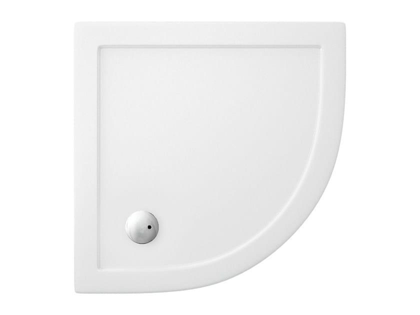 Corner acrylic shower tray T-FORMAT | Shower tray - Polo