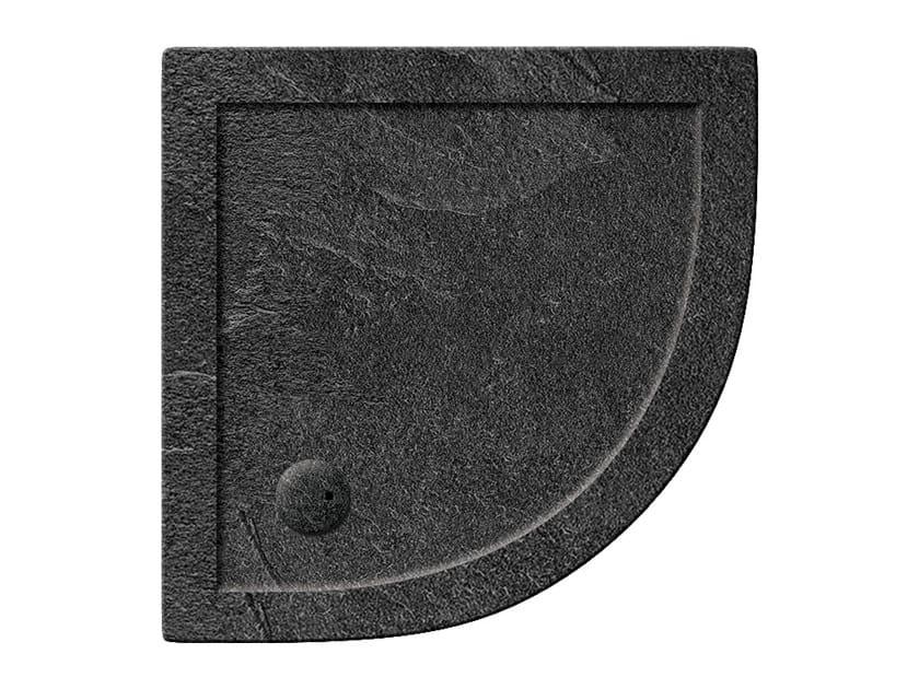 Corner acrylic shower tray T-FORMAT | Corner shower tray - Polo