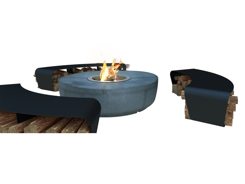 Cement fire baskets ZARZUELA by GlammFire