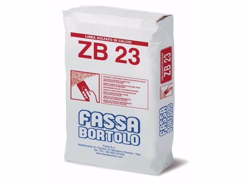 Gypsum plaster ZB 23 by FASSA