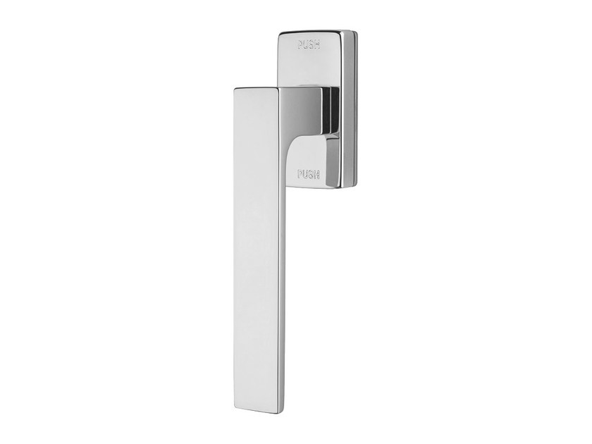 Contemporary style anti-intrusion DK brass window handle ZEN | Anti-intrusion window handle - LINEA CALI'