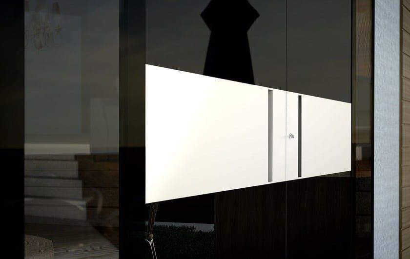 Contemporary style glass door ZEN GLASS - Interno Doors