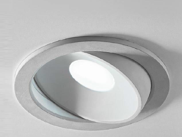Adjustable ceiling spotlight ZENIT 2/INC/C - Aldo Bernardi