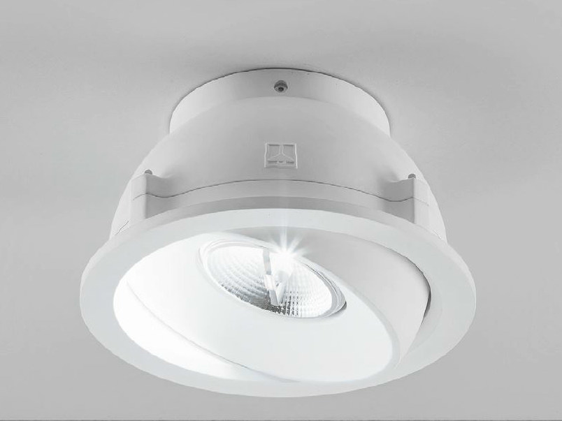 Adjustable ceiling spotlight ZENIT 3/G - Aldo Bernardi