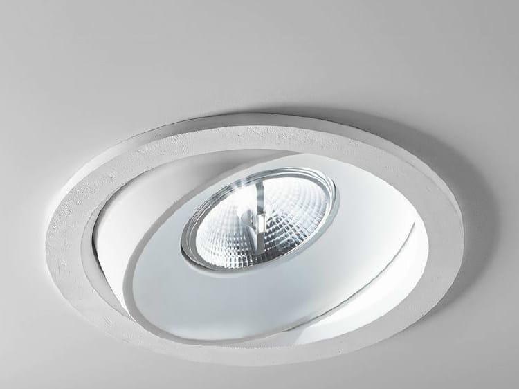 Adjustable ceiling spotlight ZENIT 3/INC/G - Aldo Bernardi