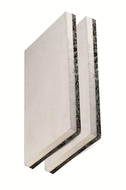 Sound insulation panel ZERODB GIPS by EDILTECO