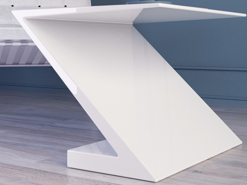 Tavolino da caffè alto in Adamantx® ZETA - ZAD ITALY
