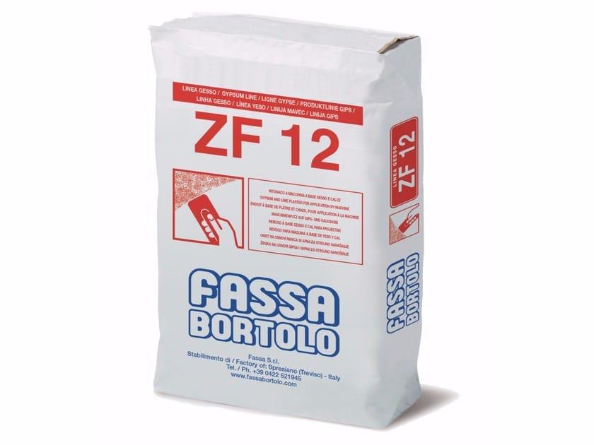 Gypsum plaster ZF 12 by FASSA