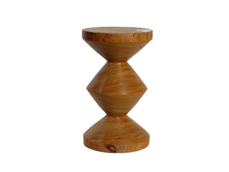 Sgabello in legno ZIG ZAG | Sgabello in legno - Pols Potten